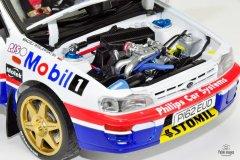 Subaru Impreza Hołowczyc/Wisławski Rajd Wielkiej Brytanii 1997 - model Sun Star w skali 1:18