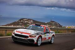 33 POLONSKI Dariusz (POL), SITEK Łukasz (POL), Team Rallytechnology, Abarth 124 Rally, action during the 2020 Rally Islas Canarias, 5th round of the 2020 FIA European Rally Championship, from November 26 to 28, 2020 in Las Palmas de Gran Canaria, Spain - Photo Jorge Cunha / DPPI