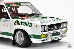 Rajdowy Fiat 131 Mirafiori Abarth 1:18 Kyosho
