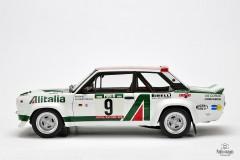 Rajdowy Fiat 131 Mirafiori Abarth Kyosho 1:18
