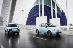 Hybrydowy Fiat 500 i Panda