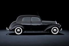 Mercedes-Benz 220 (W 187), 1951 - Historia klasy S