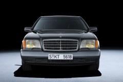 Mercedes-Benz 600 SEL W140, 1991 - Historia klasy S