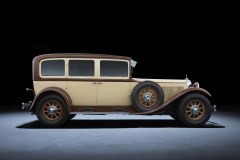 Mercedes-Benz Nürburg (W08), 1928 - Historia klasy S