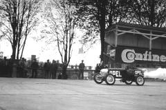 Opel Rak 1, prowadzony przez Kurta Volkharta. Wiosna 1928