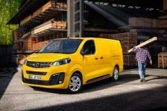 Elektryczny Opel Vivaro e