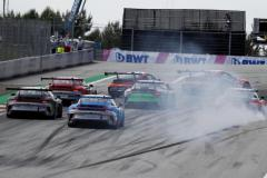 Start, Porsche 911 GT3 Cup, Aaron Mason (GB), Stephane Denoual (F), Fabio Scherer (CH), Porsche Mobil 1 Supercup, Spielberg 2021