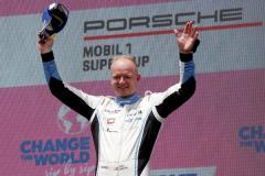 Roar Lindland (N), Nebulus Racing by Huber, Porsche Mobil 1 Supercup, Spielberg 2021
