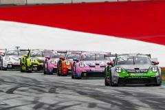 Porsche 911 GT3 Cup, Jaxon Evans (NZ), Porsche Mobil 1 Supercup, Spielberg 2021,