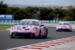 Porsche 911 GT3 Cup, BWT Lechner Racing (#3), Dylan Pereira (L), Porsche Mobil 1 Supercup, Budapest 2021