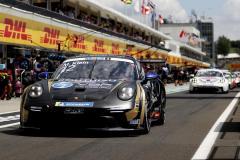 Porsche 911 GT3 Cup, CLRT (#12), Marvin Klein (F), Porsche Mobil 1 Supercup, Budapest 2021,