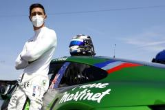 Jaxon Evans (NZ), Martinet by Almeras (#20), Porsche Mobil 1 Supercup, Budapest 2021,