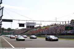 Start, Porsche 911 GT3 Cup, CLRT (#12), Marvin Klein (F), Martinet by Almeras (#20), Jaxon Evans (NZ), CLRT (#11), Florian Latorre (F), Porsche Mobil 1 Supercup, Budapest 2021,