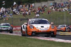 Porsche 911 GT3 Cup, Team GP Elite (#24), Max van Splunteren (NL), Porsche Mobil 1 Supercup, Budapest 2021