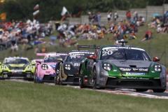Porsche 911 GT3 Cup, Martinet by Almeras (#20), Jaxon Evans (NZ), Porsche Mobil 1 Supercup, Budapest 2021