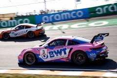 Porsche 911 GT3 Cup, BWT Lechner Racing (#3), Dylan Pereira (L), Porsche Mobil 1 Supercup 2021, Zandvoort (NL)