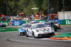 Porsche 911 GT3 Cup, Nebulus Racing by Huber (#28), Leon Köhler (D), Porsche Mobil 1 Supercup 2021, Monza (I)