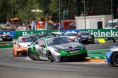 Porsche 911 GT3 Cup, Martinet by Almeras (#20), Jaxon Evans (NZ), Porsche Mobil 1 Supercup 2021, Monza (I)