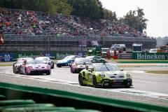 Porsche 911 GT3 Cup, Nebulus Racing by Huber (#29), Laurin Heinrich (D), Porsche Mobil 1 Supercup 2021, Monza (I)