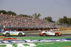 Porsche 911 GT3 Cup, FACH AUTO TECH (#6), Christopher Zöchling (A), Team GP Elite (#24), Max van Splunteren (NL), Porsche Mobil 1 Supercup 2021, Monza (I)