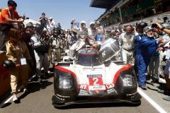 Porsche LMP Team: Brendon Hartley, Timo Bernhard, Earl Bamber