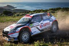 Kajetan Kajetanowicz, Maciej Szczepaniak, WRC3 Rajd Sardynii 2020