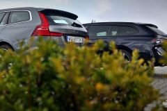 Łoś kontra lew. Volvo V60 B4 kontra Peugeot 508 SW GT 1.6 – test