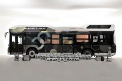 Honda i Toyota testują wodorowy autobus - mobilny system awaryjnego zasilania