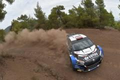 WRC Rajd Akropolu 2021: Kajetan Kajetanowicz i Maciej Szczepaniak Skoda Fabia Rally 2 evo