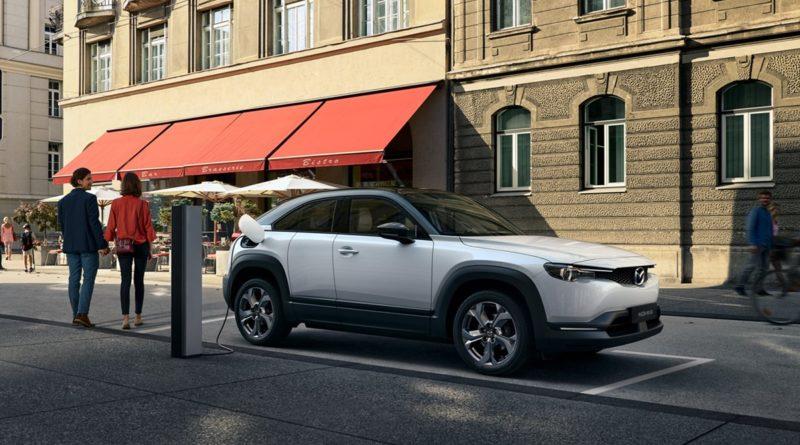 Premiera nowa elektryczna Mazda MX 30