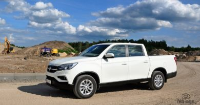 SsangYong Musso Grand 4x4 test Overdrive