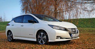 Nissan Leaf test Overdrive