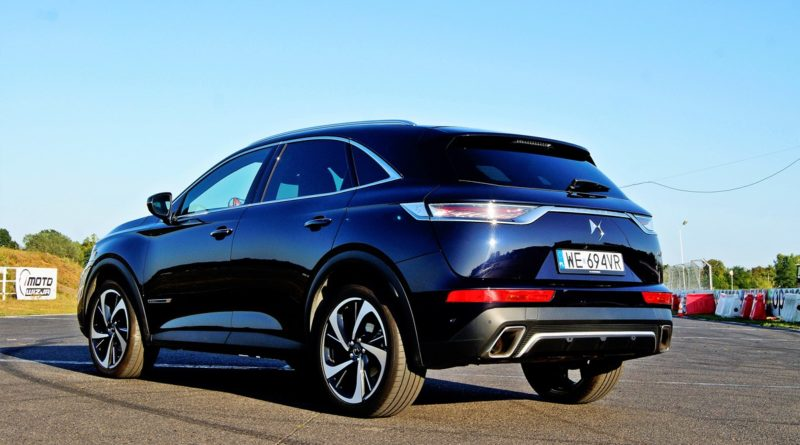 DS7 Crossback test Overdrive
