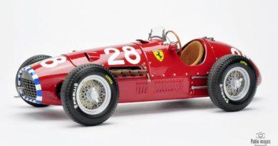Ferrari 500 F2 Exoto 1:18 test overdrive