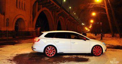 SEAT Leon CUPRA test Overdrive