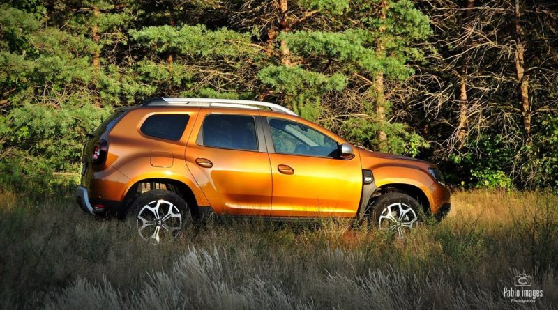 Dacia Duster 4WD test Overdrive