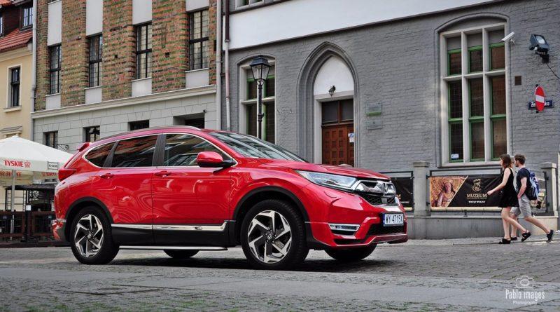 Honda CR-V test Overdrive