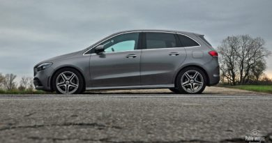Mercedes Benz B200d test Overdrive