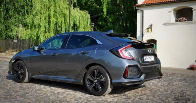 Honda Civic test overdrive