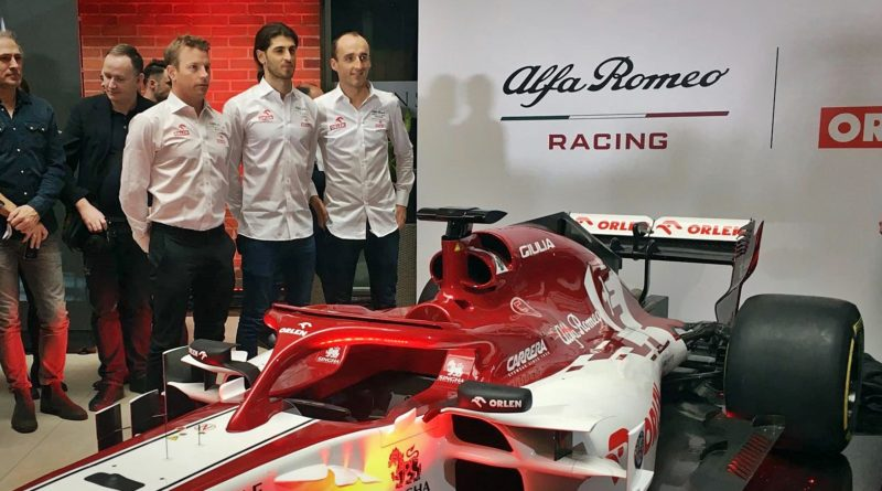 Alfa Romeo Racing ORLEN w Warszawie
