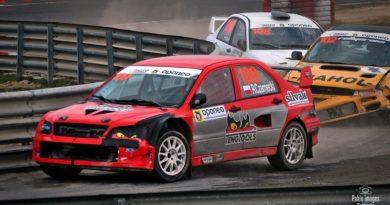 Robert Czarnecki Mitsubishi Lancer Evo Oponeo Mistrzostwa Polski Rallycross