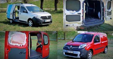 Test Dacia Dokker i Renault Kangoo