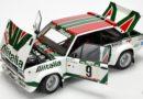 FIAT 131 Mirafiori Abarth w skali 1:18 by Kyosho