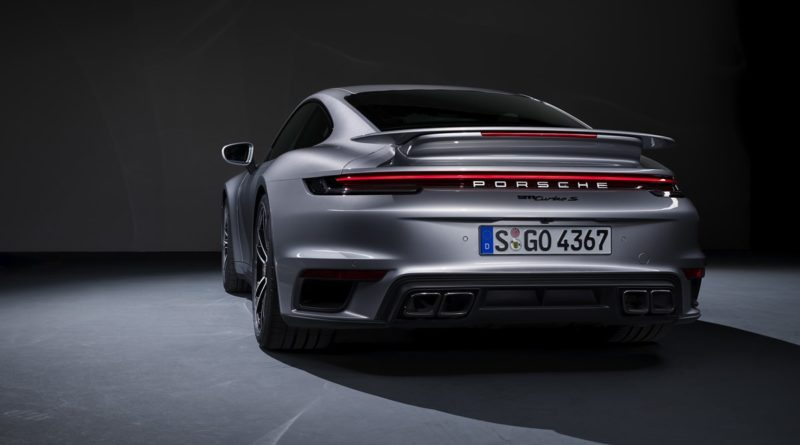 Nowe Porsche 911 Turbo S 2020