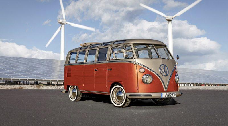 Elektryczny VW eBulli eClassics