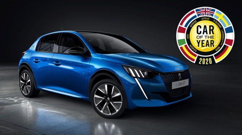 Peugeot 208 COTY 2020