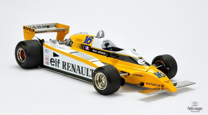 F1 Renault RE20 - model 1:18 Exoto