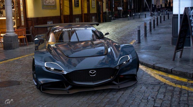 Wirtualna Mazda RX-Vision GT3
