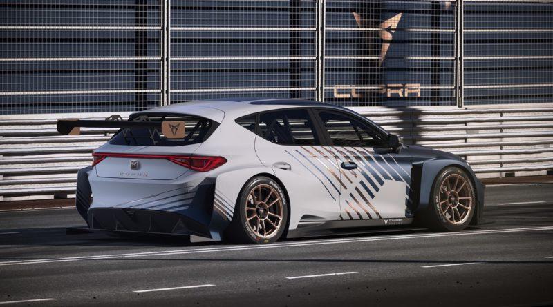 Wyścigowa CUPRA e-Racer