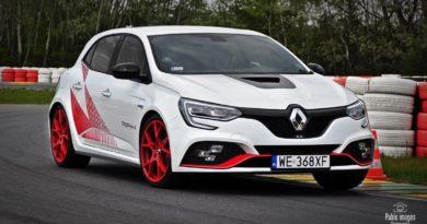 Test Renault Megane RS Trophy-R na Torze Modlin